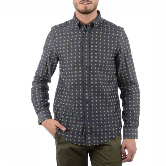 Ben Sherman Shirt Ma11919 mid grey/Assortment Geometric