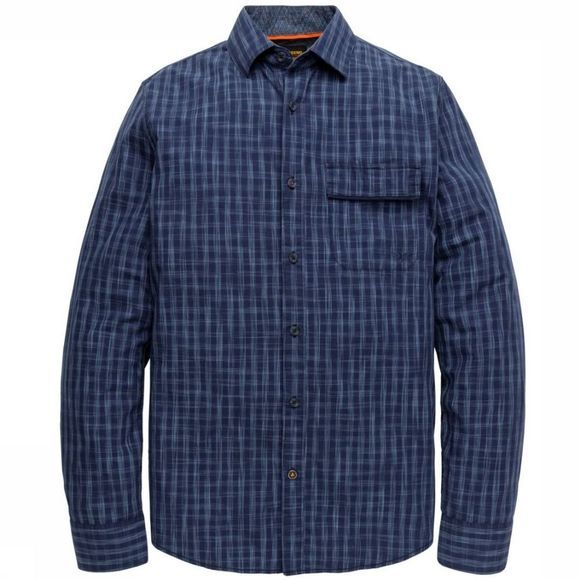 PME Legend Shirt Psi195234 dark blue/mid blue