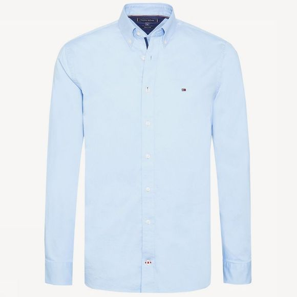Tommy Hilfiger Shirt Stretch Twill light blue