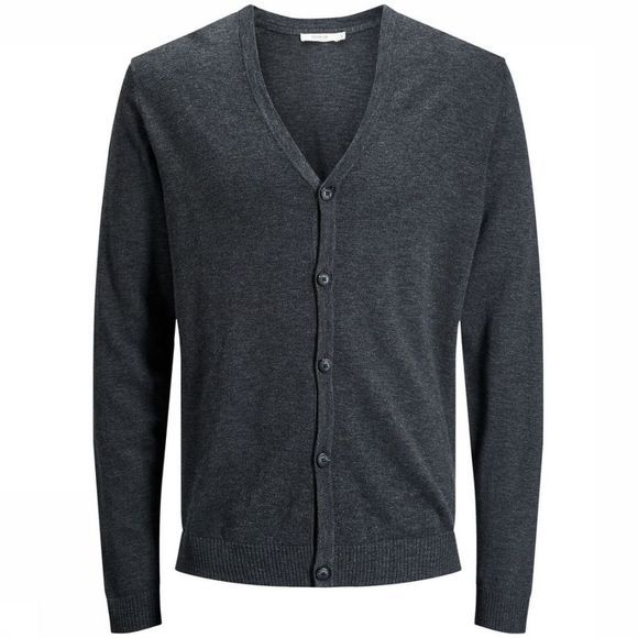Jack & Jones Cardigan  Minimal Dark Grey Mixture