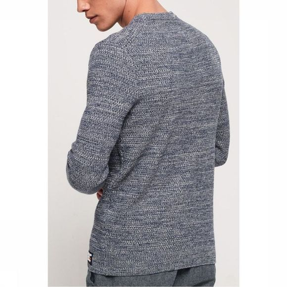 Superdry Pullover Upstate Crew mid grey