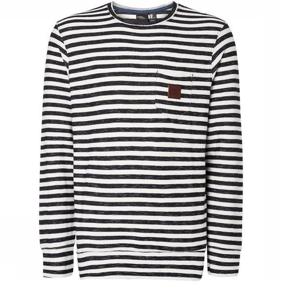 O'Neill Pullover Lm  Crew black/white