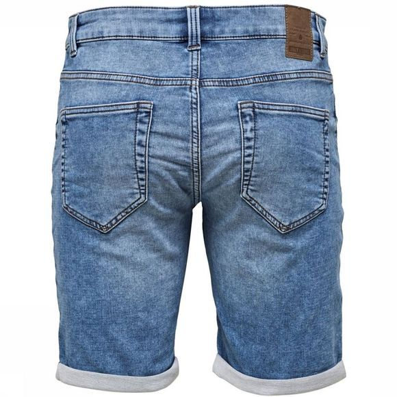 Only&Sons Short plysw Middenblauw
