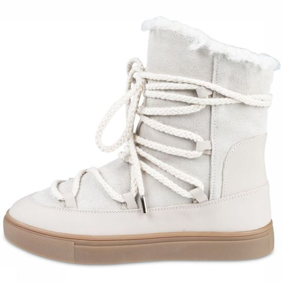Yaya Bottine Snow Boot Ecru