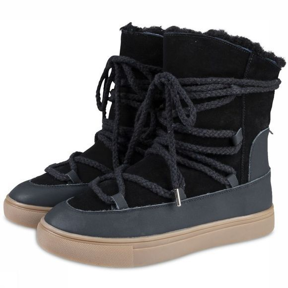 Yaya Bottine Snow Boot Zwart