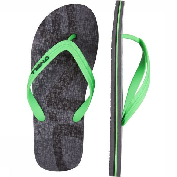 O'Neill Flip Flop Fm Profile Logo dark grey/green