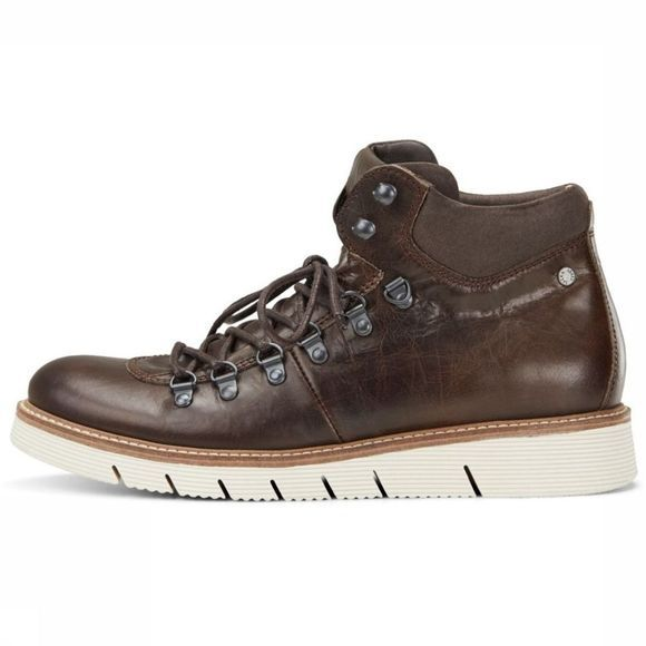 Jack & Jones Bottine Columbus Leather Donkerbruin