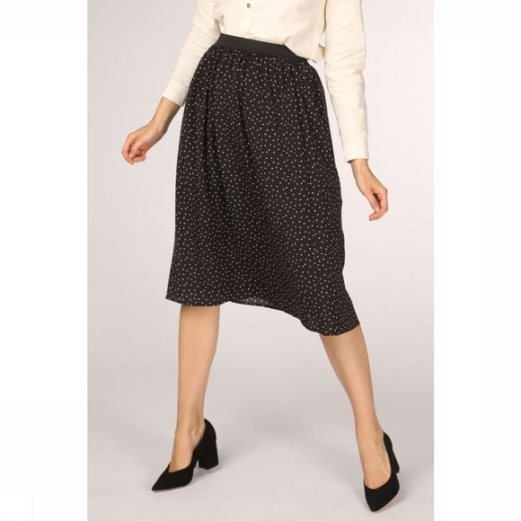 Sugarhill Boutique Skirt Sorrel Petal Spot Midi black/off white