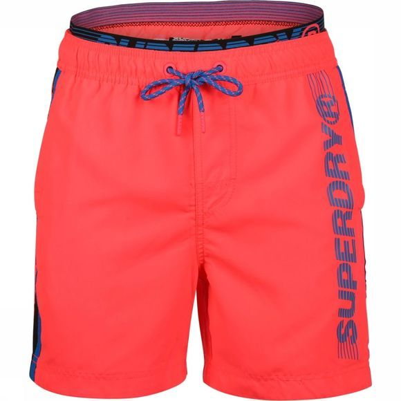 Superdry Short De Bain State Volley Fuchsia