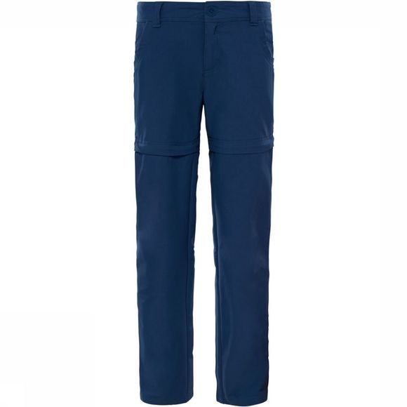 The North Face Broek G ArgConvertible Hike Pant Middenblauw