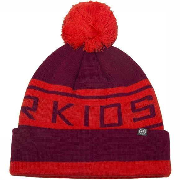 Color Kids Muts Switter Donkerrood/Rood