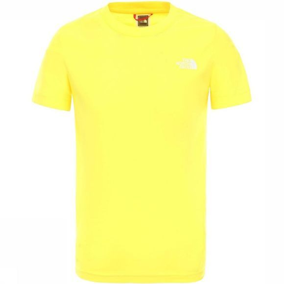 The North Face T-Shirt Y Simple Dome Geel/Donkergeel
