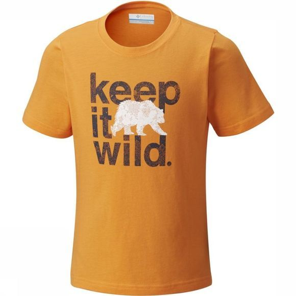 Columbia T-Shirt Outdoor Elements Oranje