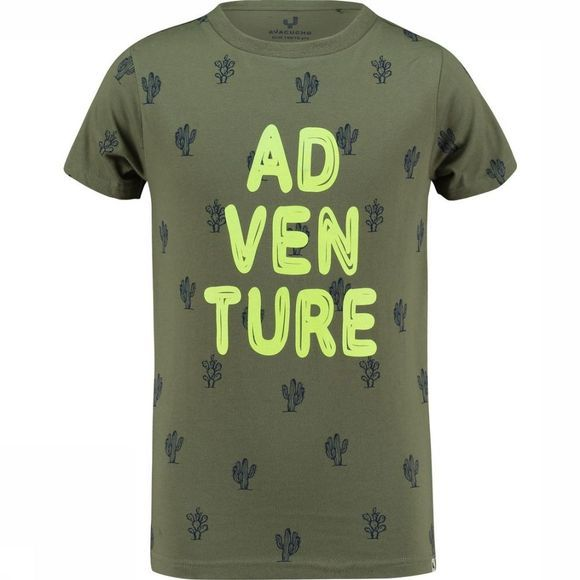 Ayacucho Junior T-Shirt Alfie A Kaki Moyen/Assortiment
