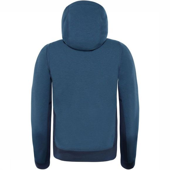 The North Face Pull Boy'S Slacker Hoodie Bleu Moyen
