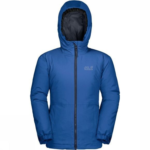 Jack Wolfskin Coat Argon Storm royal blue