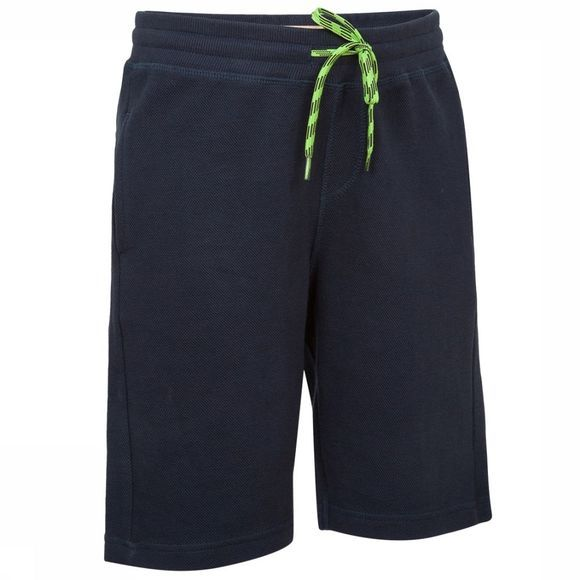 Ayacucho Junior Short Afro Donkerblauw