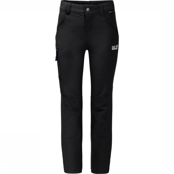 Jack Wolfskin Trousers Activate black