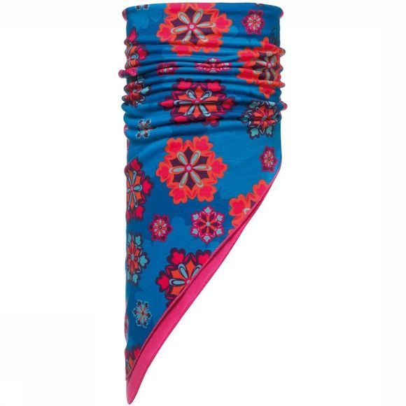 Buff Buff Child Bandana Polar Louv Blauw/Middenroze
