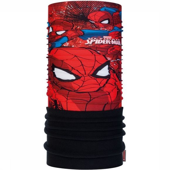 Buff Buff Junior Polar Spiderman Approach Black Zwart/Rood