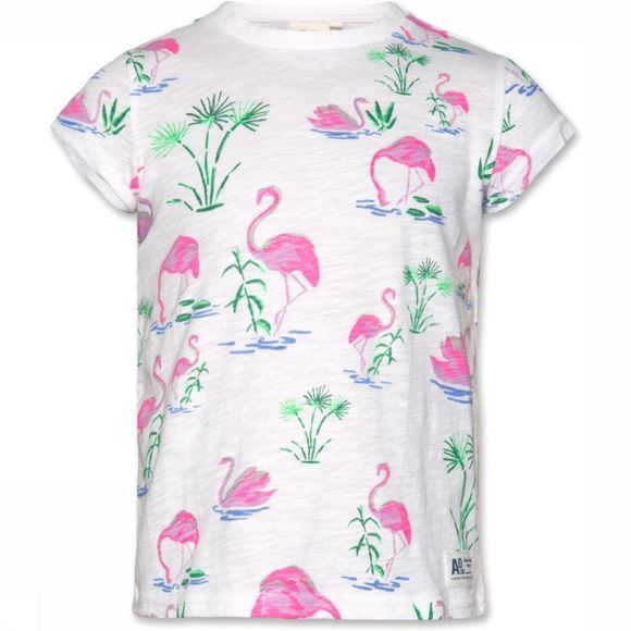 AO76 T-Shirt Flamingo Gebroken Wit/Assortiment