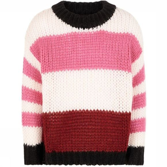 Name It Trui fohia Ls Oversize Knit Fuchsia