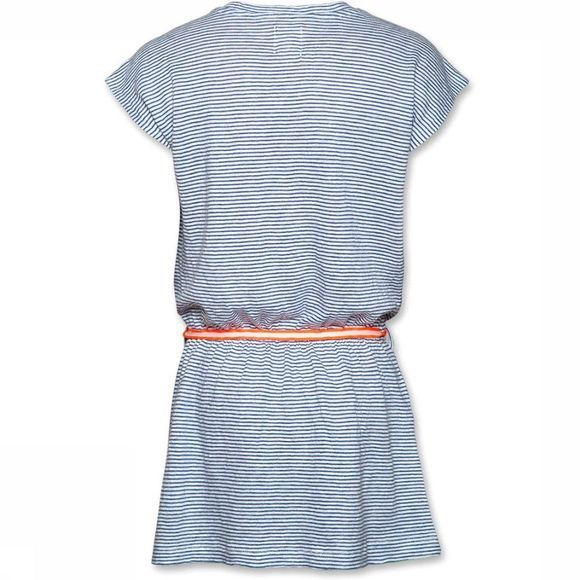AO76 Dress Striped blue