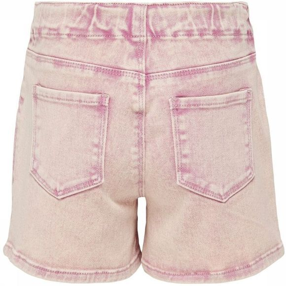 Kids Only Short Konnamy Acid Colored Dnm Rose Clair