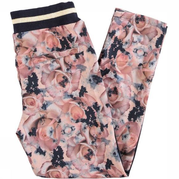 Name It Pantalon Nkfomille Rose Clair/Assortiment Fleur