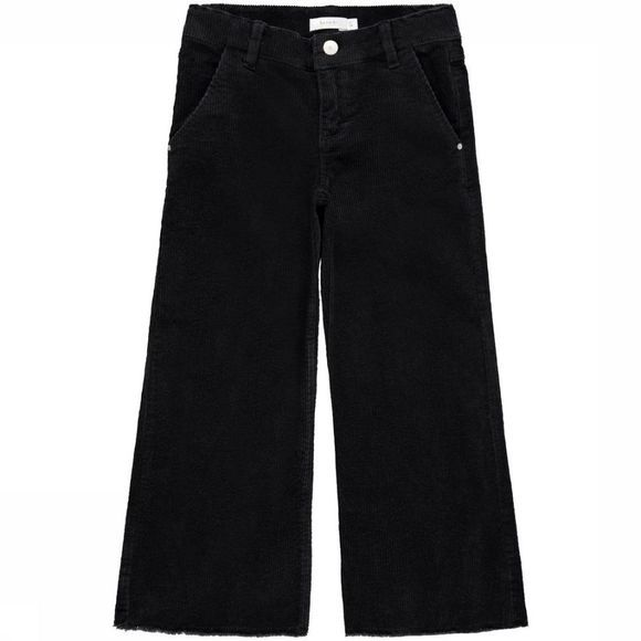 Name It Pantalon fanicka Cord 7/8 Wide Pant Bn Noos Noir