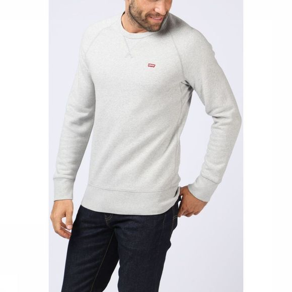 Levi's Pullover Original Hm Icon Cr Light Grey Mixture