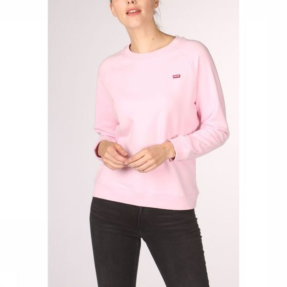 Levi's Pullover Relaxed Graphic Crew light pink