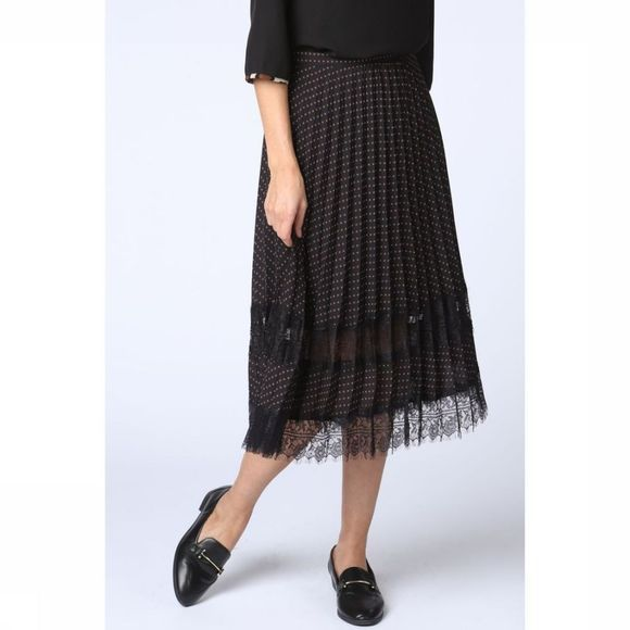 CKS Women Skirt 4034188 black/Assortment Geometric