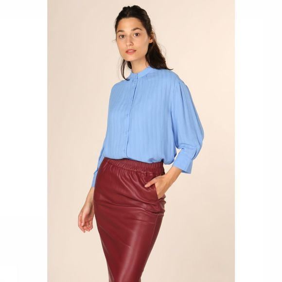 CKS Dames Blouse Nancy Middenblauw