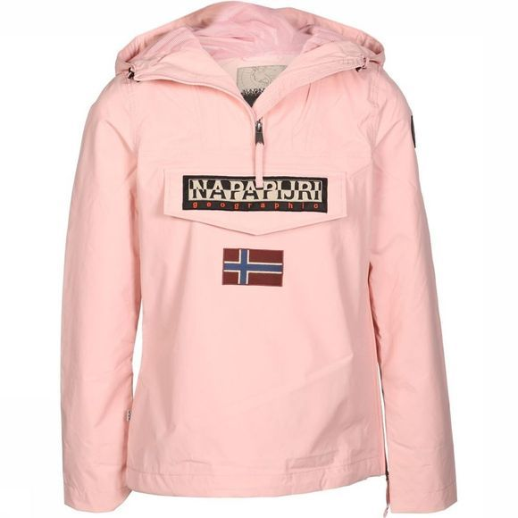 Napapijri Coat Rainforest Wmn Summer 1 mid pink