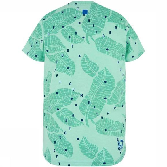 Retour Denim Deluxe T-Shirt Bruno Vert/Assortiment Fleur