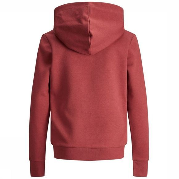 Jack & Jones Pull Jorwilmer Sweat Hood Jr Rouge Foncé