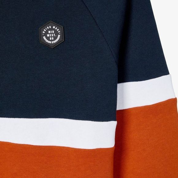 Name It Pullover neelo Ls Sweat Bru dark blue/rust