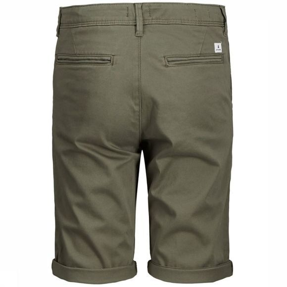 Jack & Jones Short Jjibowie Jjshorts Solid Sa Jr Middenkaki