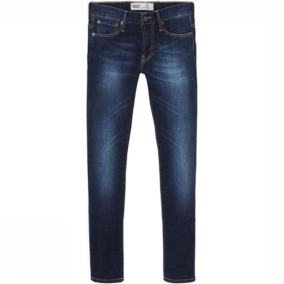 Levi's Kids Jeans 520 Extreme Taper jeans/Donkerblauw