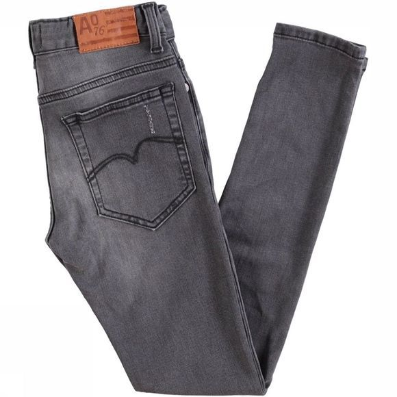 AO76 Jeans Max 5P Skinny jeans/Donkergrijs