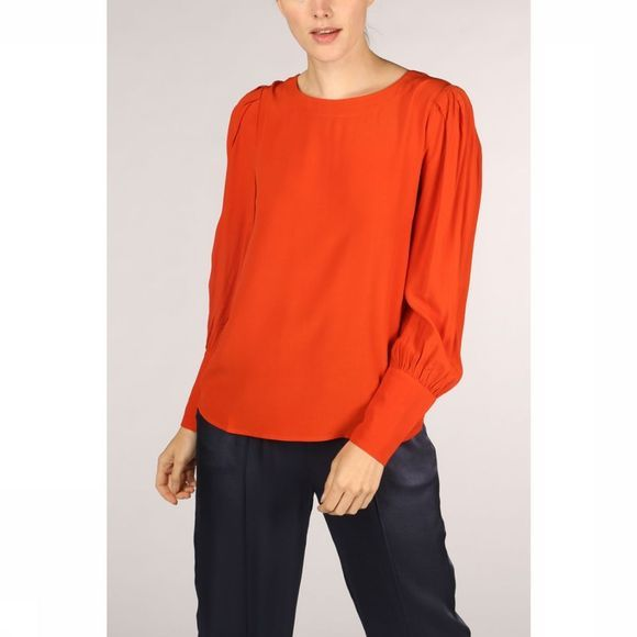 Soft Rebels Blouse Zimba Rouille