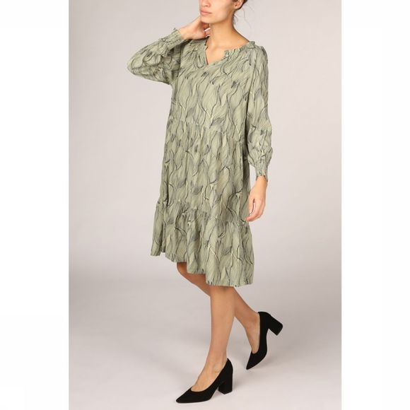 Soft Rebels Robe Move Ls Vert Clair/Assortiment Fleur