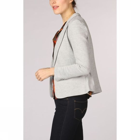 Vero Moda Blazer julia Ls Dnm Color Light Grey Mixture