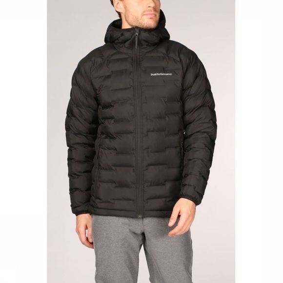 Peak Performance Jas Argon Hood Zwart