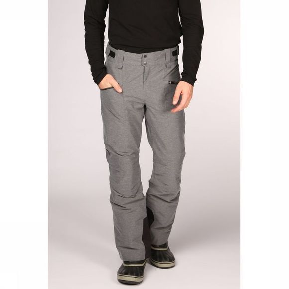 Peak Performance Pantalon De Ski Scoot Melange Gris Moyen