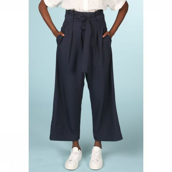 Numph Trousers New Toyon dark blue