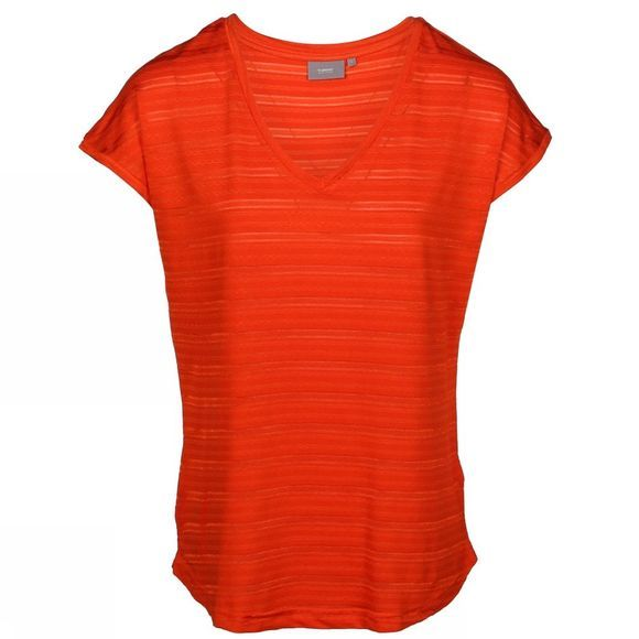 B.Young T-Shirt Byprikka Tafel Middenrood