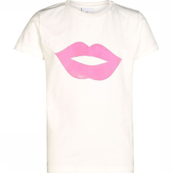 The New T-Shirt Okiss Blanc Cassé/Rose Clair