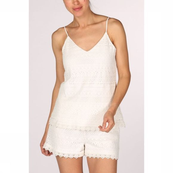 Vero Moda Shirt honey Lace Singlet Vip off white